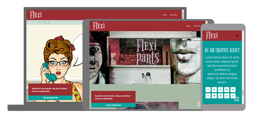Flexi - U-Page One Website