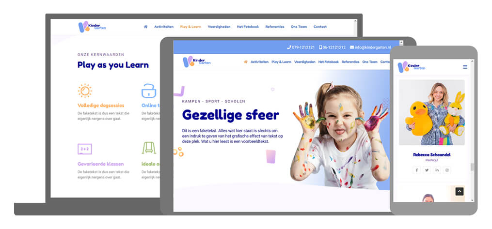 Kindergarten - U-Page One Website