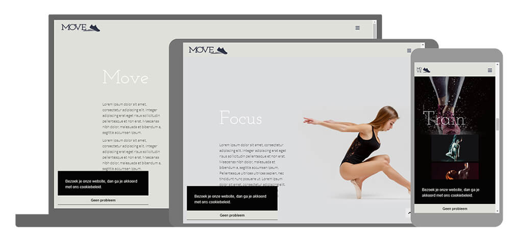 Move - U-Page One Website
