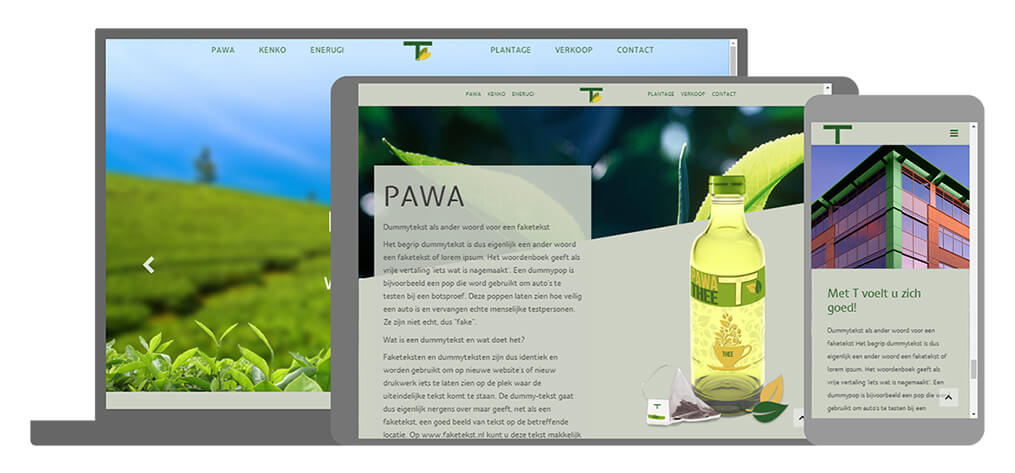 T - U-Page One Website